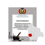 """INDUCCIÓN EN EL MARCO DE LOS PARADIGMAS, LINEAMIENTOS INSTITUCIONALES Y NUEVO MODELO DE GESTIÓN FISCAL """"ORURO"""""""