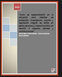 CURSO DE ESPECIALIZACIÓN EN LA ACTUACIÓN PARA MEDIDAS DE PROTECCIÓN, INVESTIGACIÓN, SANCIÓN Y REPARACIÓN INTEGRAL DE DAÑOS EN DELITOS DE VIOLENCIA SEXUAL Y EN RAZÓN DE GÉNERO – Ley 348