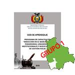 """INDUCCIÓN EN EL MARCO DE LOS PARADIGMAS, LINEAMIENTOS INSTITUCIONALES Y NUEVO MODELO DE GESTIÓN FISCAL """"POTOSI""""  G1"""