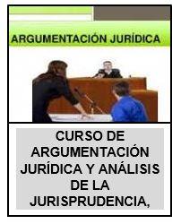 CURSO DE ARGUMENTACIÓN JURÍDICA Y ANÁLISIS DE LA JURISPRUDENCIA,